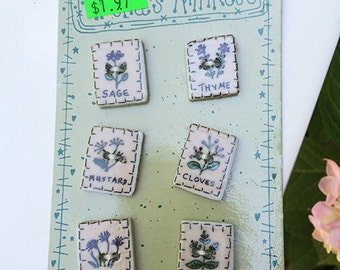 Mini Seed Packet Buttons