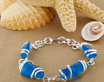 Capri Sea Glass Bracelet