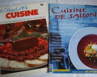 Vintage magazines recipe, menu tips, guides,