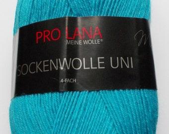 sock yarn 100g (5,-Euro/100g), turquoise, 4ply (424)