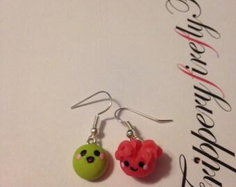 Kawaii Ginger & Wasabi Earrings