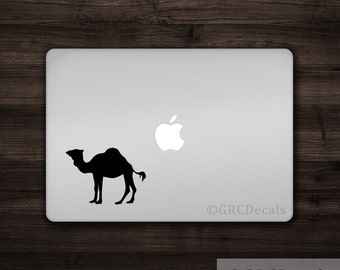 Camel - Vinyl Decal Sticker Macbook Mac Apple Laptop Unique Egypt Desert Cute Animal