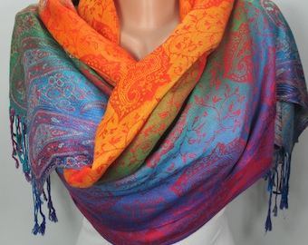 Pashmina Scarf Oversize Scarf Fall Winter Scarf Large Scarf Women Fashion Accessories Valentines Day Gift Ideas For Her  MELSCARF