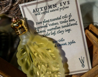 Autumn Eve {11ml Leaf Vial} ~ Natural Perfume Oil