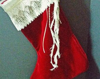 elegant stocking | etsy, Hause ideen