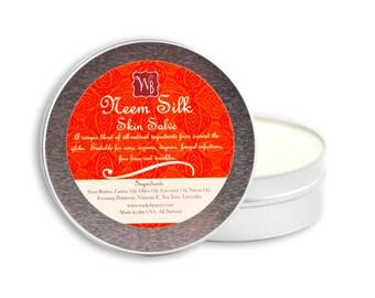 Neem Silk - Oil Salve- Eczema and Psoriasis Salve, All Natural (4oz)