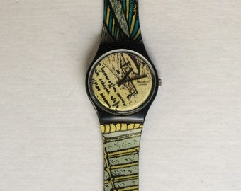 Vintage Swatch Watch 1991 Engineer GB139