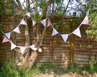 Large Handmade Bunting - Personalised Colour Scheme