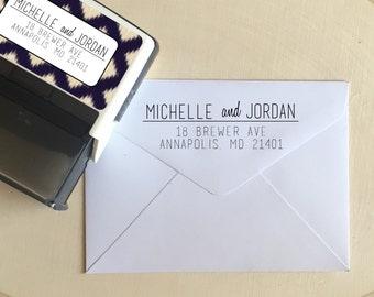 Custom Return Address Stamp, Self Inking Address Stamp, Custom Address Stamp, Personalized Address Stamp