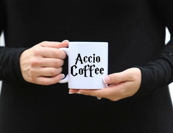 ACCIO COFFEE | Harry Potter Mug | Message Mugs | 11 oz.