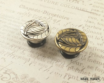 "Plugs Gauges - Round Leaf Plugs - 00ga (10mm), 7/16"" (11mm), 1/2"" (12mm), 9/16"" (14mm), 5/8"" (16mm), 3/4"" (19mm), 7/8"" (22mm)"