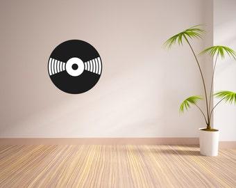 Vinyl Record Vinyl Wall Decal