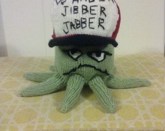 Hand Knit Early Cuyler Squidbillies Plushie