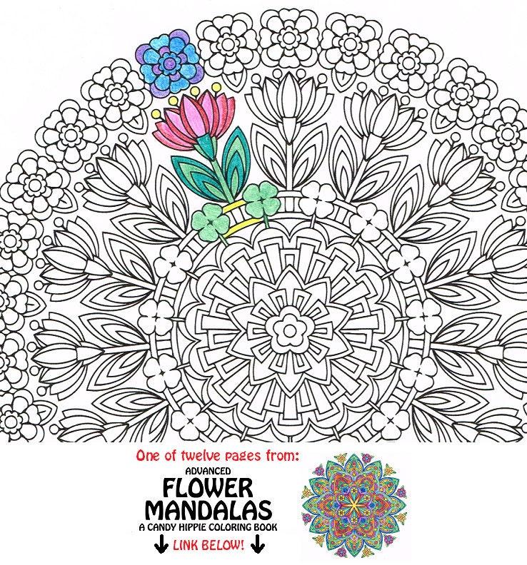 Mandala da colorare rinnovamento primavera stampabili da for Stampabili da colorare