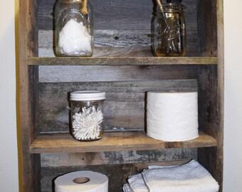 Rustic Reclaimed Cedar Wood Shelf