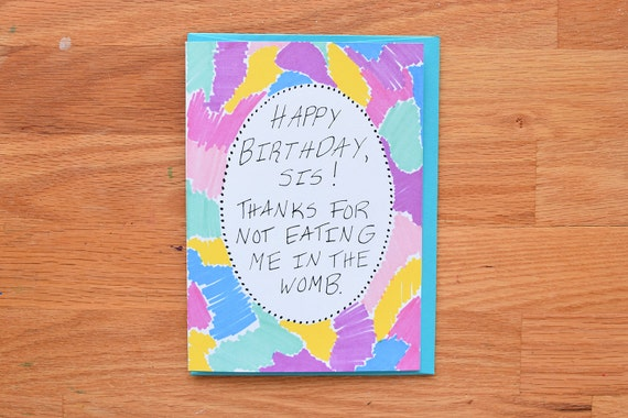 Funny Twin Birthday CardPitch Perfect cardpitch perfect – Twin Sister Birthday Card