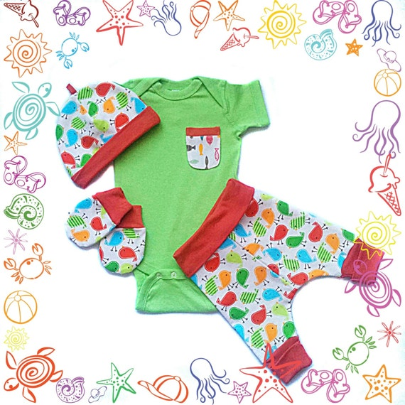 Baby Gifts Yoga : Baby gift set yoga pants mittens hat onesiebaby by
