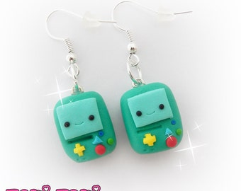 Cute Earrings, Gamer Earrings, Polymer Clay Jewelry, Clay Charms, Cute Kawaii Charms, Kawaii Earrings, Kawaii Gifts, Clay Earrings, Geek