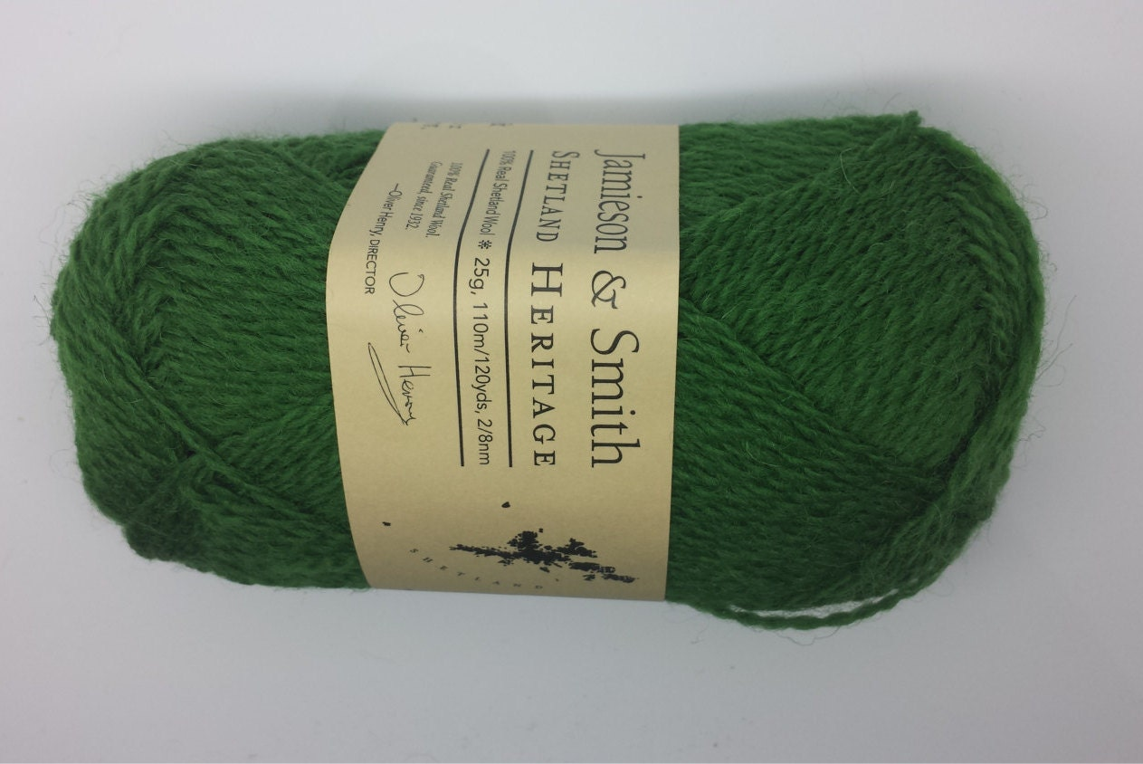 Shetland wool knitting wool Jamieson and Smith by CollieCraft1
