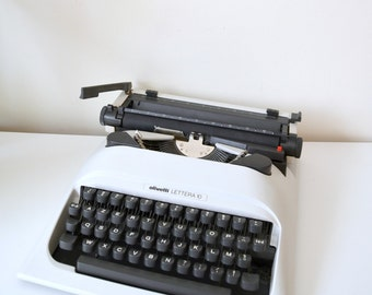 """""""Lettera 10"""", for collection or deco Olivetti typewriter"""