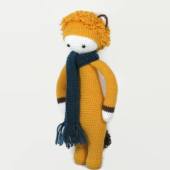 Lalylala Loni Lion Doll Lalylala Lion Doll Stuffed Crochet