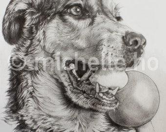 Custom Portrait (Detailed Pencil)