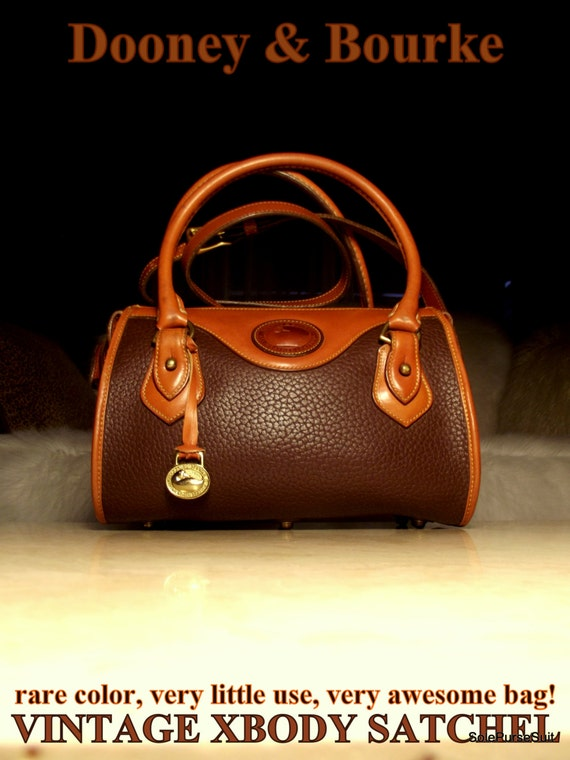 Free Ship Dooney Amp Bourke All Weather Leather Vintage