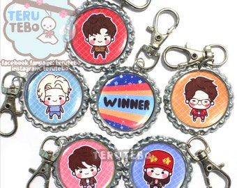 WINNER Kpop - sentimental keychain / charm/ cell phone