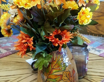 Handcrafted Gourd Flower Vase