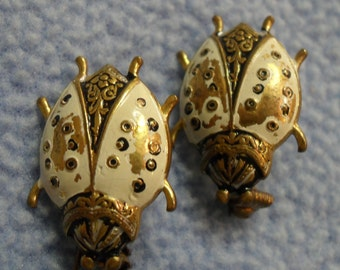 Lovely Beetle Scatter Pins Made in Spain