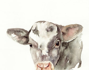Baby Cow - Print