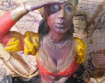 Indian Princess Figurehead, by Formcraft