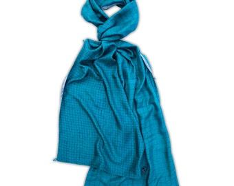 Clerkenwell Luxury Wide Silk Scarf