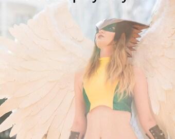 Hawkgirl Cosplay Print