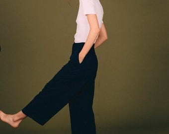 BLUE NAVY TROUSERS