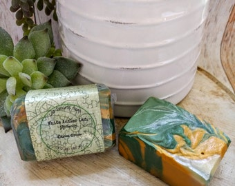 Citrus Grove soap - cold process, artisan, handcrafted soap, gift