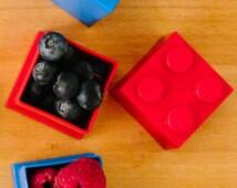 Lego Mini Box Red - Mini Box - Lego Gift Box - Snack Box - Gift for children - Gift for niece - Gift for nephew - Gift for son -  [LGMB001]