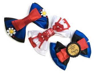 Mary Poppins Practically Perfect in Every Way Disney Inspired Hair Bow
