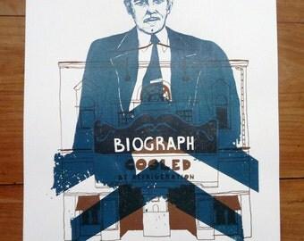 DILLINGER | Poster 29, 7x42cm. SERIGRAPHY 2 colours