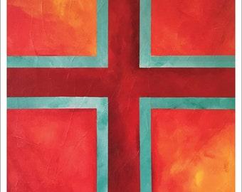 "Painting – 8""x10"" – MEDITATION 3"