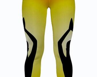 Custom Printed Yoga Leggings by Legs247.com