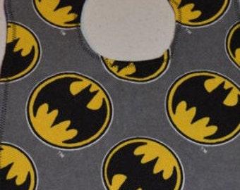 Batman - flannel bib