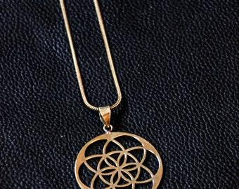 Mandala Chain - Tribal - Sacred Geometry - Ethnic - Mystic - Original - Hippie - Goa - Trance Festival