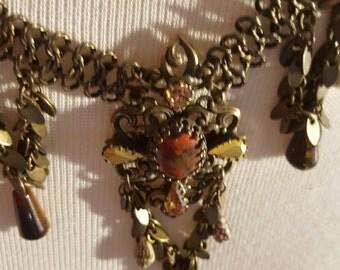 Necklace Cameleon Handmade