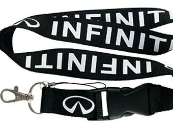 Infiniti Lanyard, Infiniti Key Chain, Infiniti ID Holder