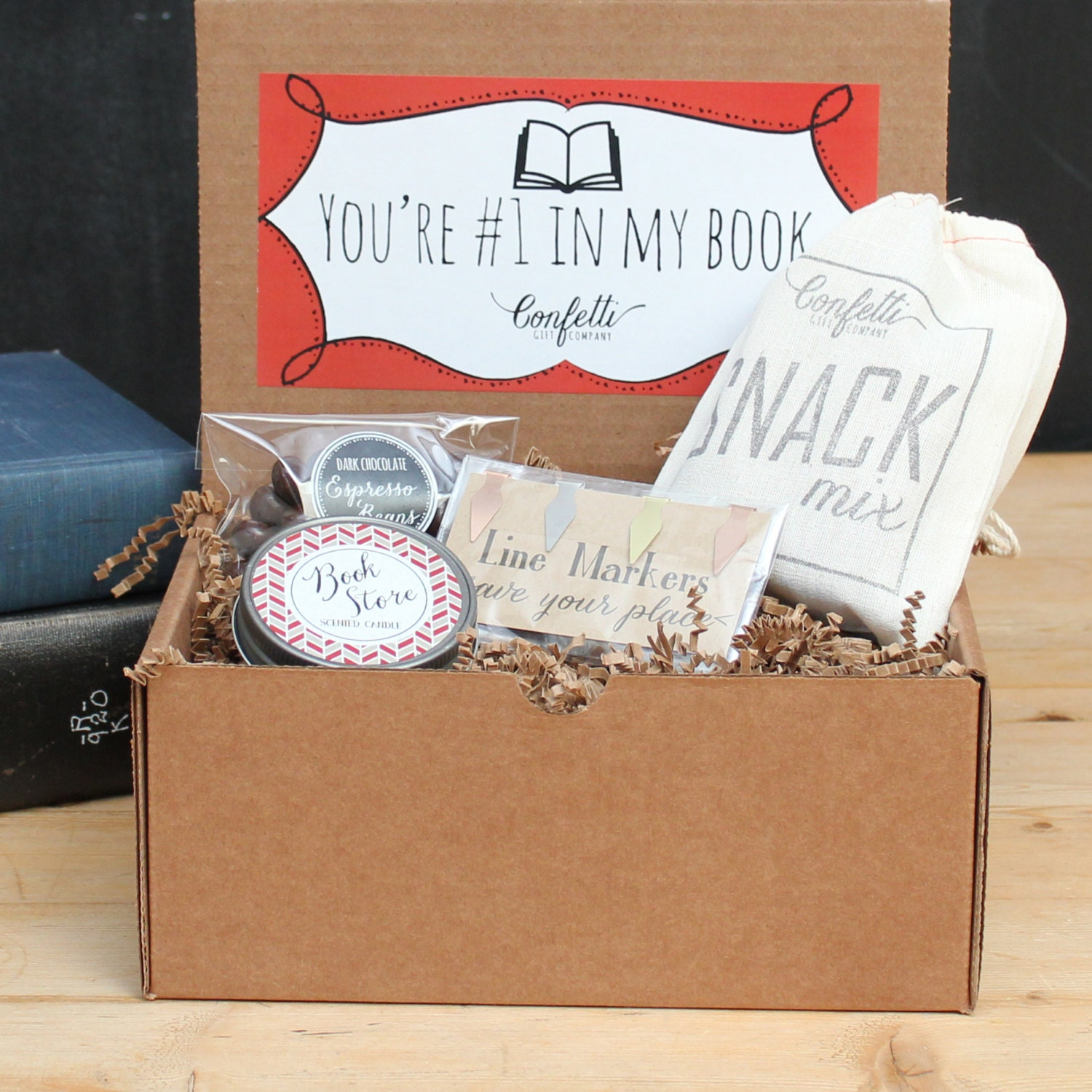 Book Lovers Gift Book Lovers Gift Box By