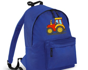 Tractor kids backpack