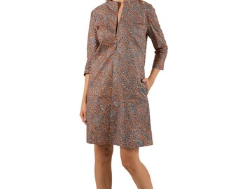 "African Print Tunic dress ""Cecelia"""