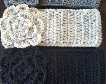 Crochet Headwrap Headband Ear Warmer