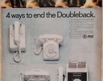 AT&T Rotary Phone Magazine Ad from 1968 (AD68-0615-POST-121)